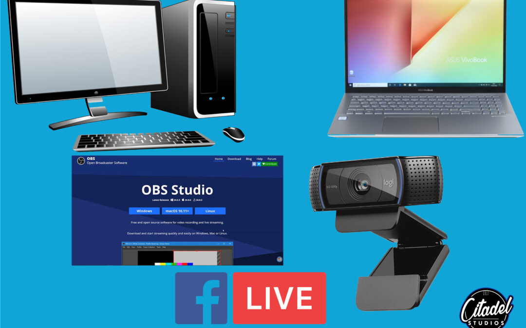 How to live stream a dj set using OBS from multiple sources and pages on facebook