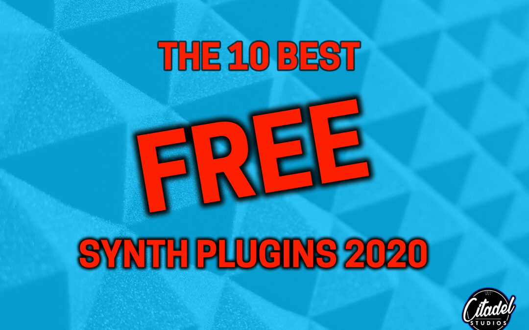10 of best Free music plugins 2020